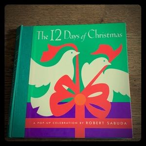 Vintage 12 Days of Christmas pop up book